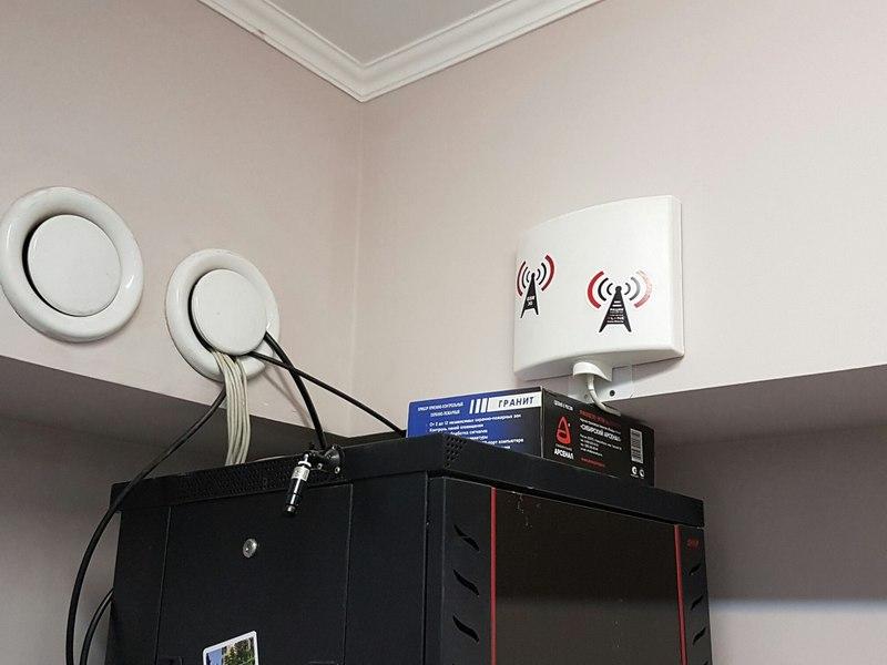 Установка усилителя сотовой связи 4G под ключ